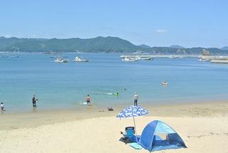 奥清水~大六天~夏浜を町内散策