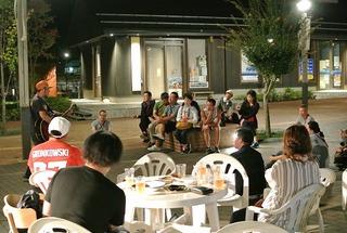 「第三回青空(夕涼み)ワインバー」開催レポート