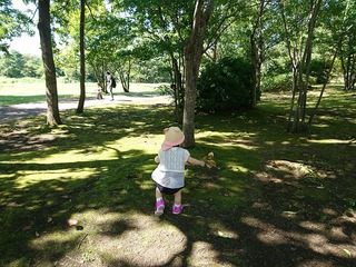 七北田公園でお散歩