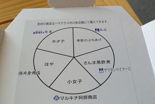 アンベアーレさんの「特選ハマテラスピザ」!
