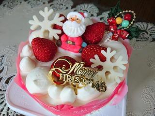 今年のクリスマスケーキ!