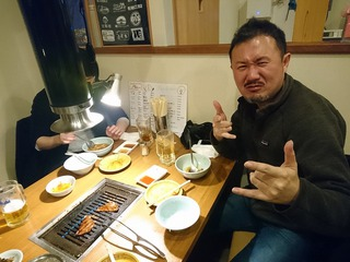 麻弓さん&佑介さん夫妻と幸楽へ!