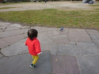 娘と公園遊び