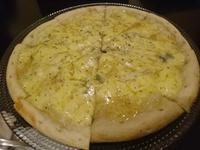 ゴルゴンゾーラとはちみつのピザ!