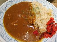 牛タン朝カレー(金のいぶき)