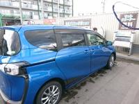 正月に洗車!