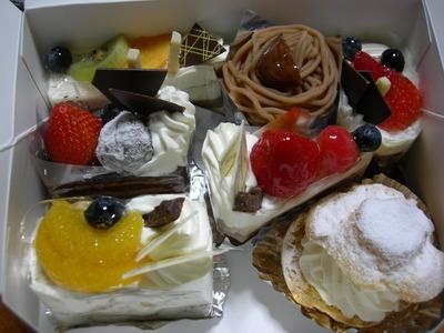 三鴻深瀬のショートケーキ