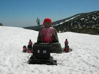 春スキー  蔵王