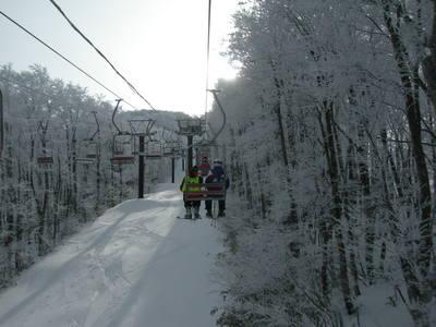 蔵王で今シーズン初滑り!
