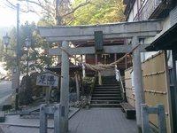 瀬見温泉・湯前(ゆのまえ)神社