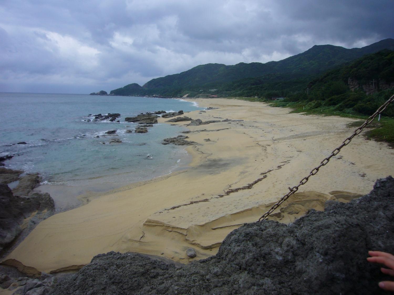 ウミガメの訪れる浜