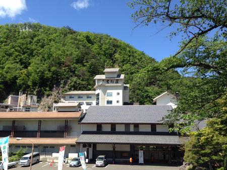 新緑の吉川屋♪