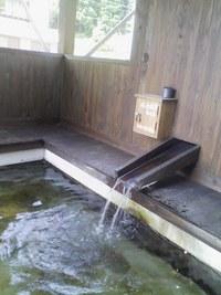 小安峡温泉の足湯(398号の旅②)