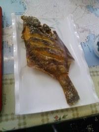 「魚竜館」(旧歌津町)の刺身定食