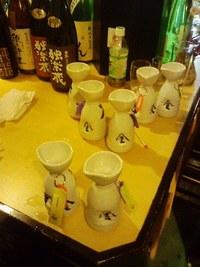 「しん」で、「独楽蔵」酒の会