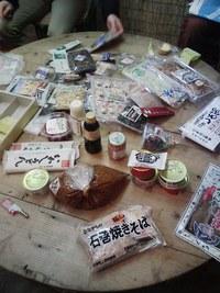 石巻の加工食品試食会