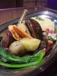 オジーノカリーヤさんの温野菜カレー