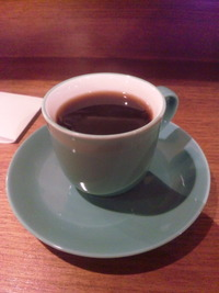 ルシエルクレムでモーニングコーヒー