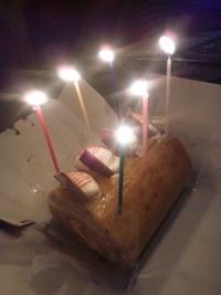 お母さんの誕生日祝い