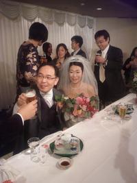 山崎さん&浦沢さんウェディングパーティー☆