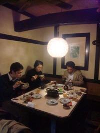 斉吉さんと、しんさんで食事
