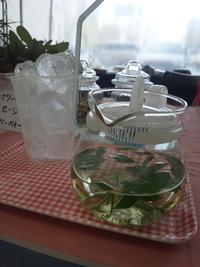 ざおうハーブ×天賞のコラボカフェ in マルシェジャポン