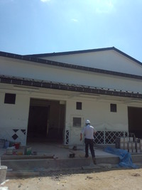 八木澤商店さんの新工場(建設中)に行ってきました!