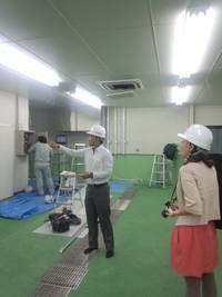 波座物産さんの新工場(建設中)に行ってきました!