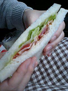 パルシェのサンドイッチ