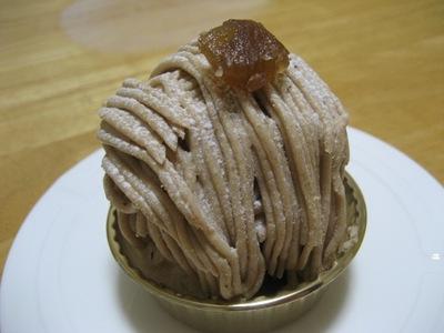 オーボナクイユ(au bon accueil)の洋菓子