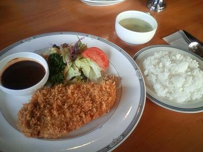 南陽市「パーク」の洋食