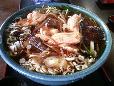 寿ゞ喜そば屋支店の鶏中華