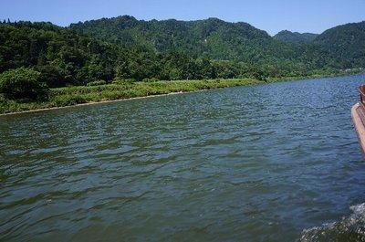 夏の舟下り