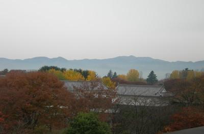 山形美術館からの眺め