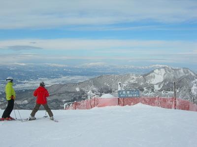 今シーズン 初滑り 蔵王温泉スキー場