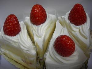 ビストロ マーシーのケーキ