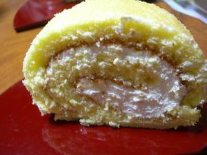 菓樹の純生ロールケーキ