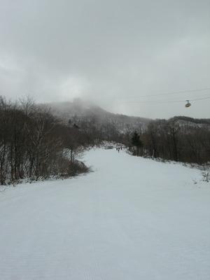 蔵王温泉スキー場で初滑り