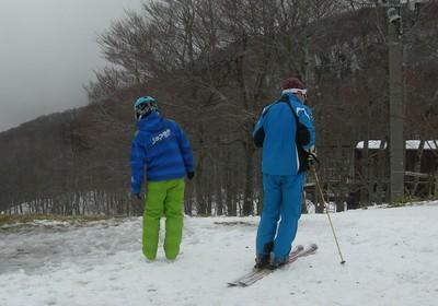 蔵王でスキーをしながら発見