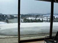 冬の最上川(真下慶治記念美術館)
