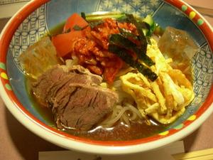 「焼肉家べこ」の冷麺