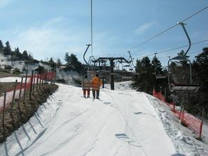 蔵王スキー場 春スキー