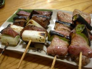 ひやま 串焼き 食事処