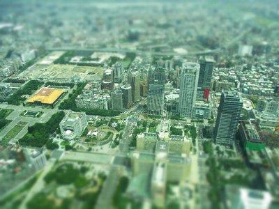台北101 ☆高いところから箱庭写真シリーズ
