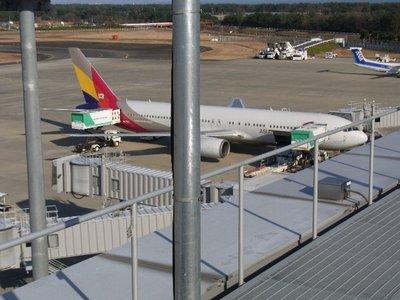 仙台空港に屋上が出来ていた