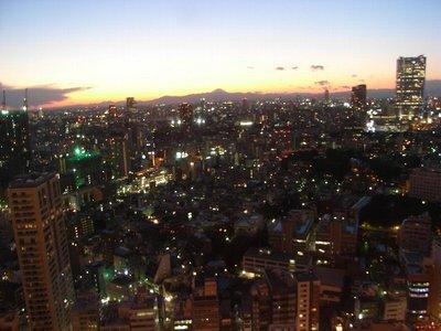 東京の夜景 2009