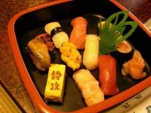 庄内すし海廊(その1)寿司割烹 鈴政