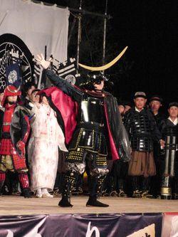 長谷堂の合戦(上杉まつり2011)