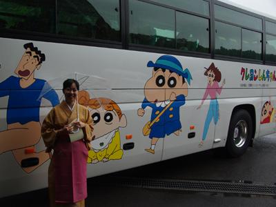 クレヨンしんちゃんがやってきた!?