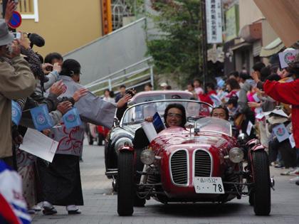 クラッシックカーの祭典 ミッレミリア2009レポ!